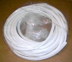White Vinyl Edge Trim - 50' Roll
