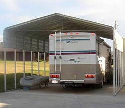 30'W x 41.5'L x 10.5'H Storage Shelter