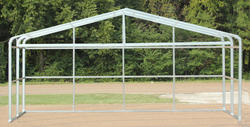 24'W x 12'L x 7.5'H Loafing Shed Frame