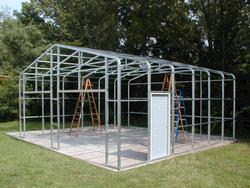 30'W x 36'L x 10'H Building Frame