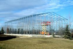 36'W x 48'L x 14'H Building Frame