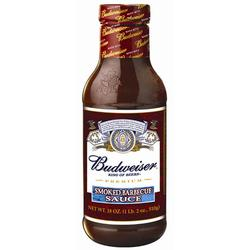 Vita Foods Budweiser Smoked Barbecue Sauce - 18 oz.