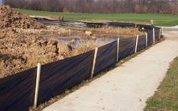 """Volm 36"""" x 100' WDOT Approved Silt Fence"""
