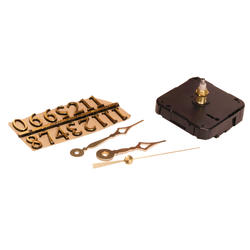 """Walnut Hollow 3-Piece Clock Kit for 3/8"""" Surfaces"""