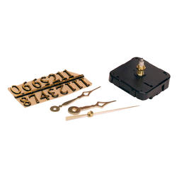 "Walnut Hollow 3-Piece Clock Kit for 1/4"" Surface"