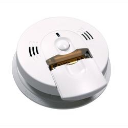 Lifesaver Battery Powered Combination Carbon Monoxide and Smoke Alarm