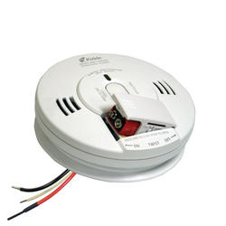FireX Combo Direct Wire Carbon Monoxide and Photoelectric Smoke Alarm