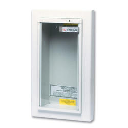 Kidde Semi-recessed Cabinet for 5 lb Dry Chemical Extinguishers