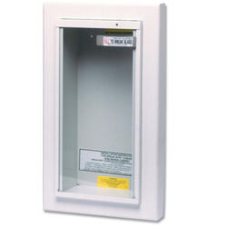 Kidde Semi-recessed Cabinet for 10 lb Dry Chemical Extinguishers