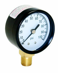 Water Source -  100 PSI Pressure Gauge with 1/4 in. Lower Connection