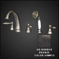 WATERTECH Oil-Rubbed Bronze Roman Tub 5-Piece Faucet