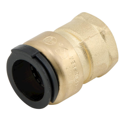 Quot cts npt lead free brass female connector at menards