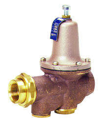 1 lead free brass water pressure reducing valve bypass double union. Black Bedroom Furniture Sets. Home Design Ideas
