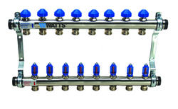 "1-1/2"" Flow Master SS Manifold, 8 -Branch"