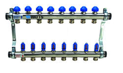 "1"" Flow Master SS Manifold, 8-Branch"