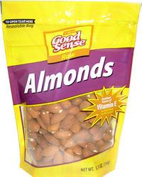 Good Sense Raw Almonds - 5.5 oz.