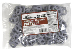 Old Mill Blueberry-Flavored Pretzels - 9 oz.