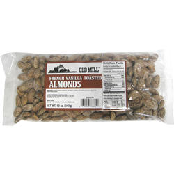 Old Mill French Vanilla Toasted Almonds - 12 oz.