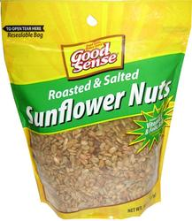 Good Sense Roasted and Salted Sunflower Nuts - 8 oz.