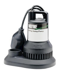 3/10 HP Thermoplastic Sump Pump
