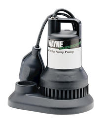4/10 HP Thermoplastic Sump Pump