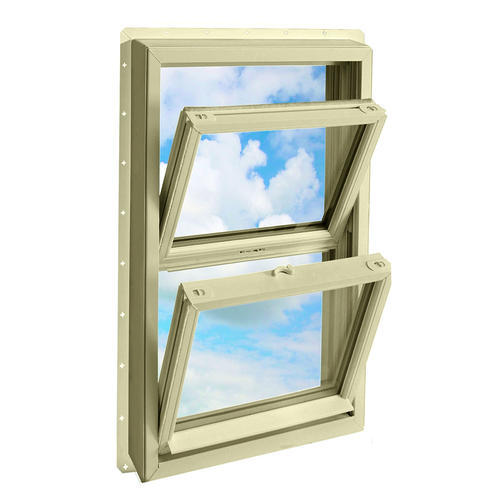 Crestline 250 vinyl double hung window w zo e5 glass at for Vinyl insulated windows