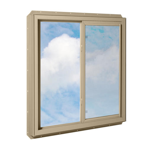 Crestline 250 vinyl sliding window w zo e5 glass at menards for Vinyl insulated windows