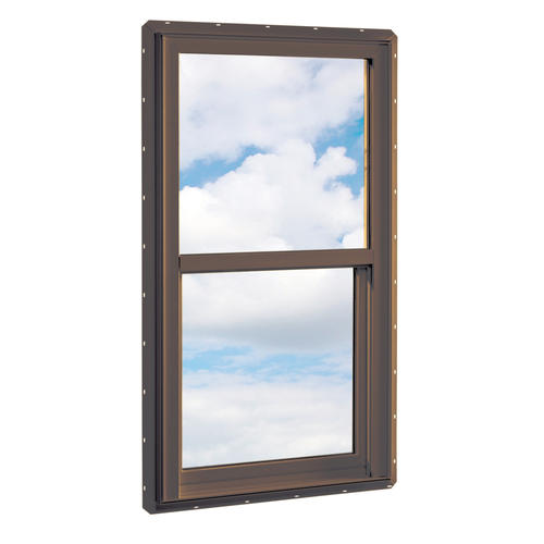 Crestline 250 vinyl single hung window w zo e5 glass at for Vinyl insulated windows