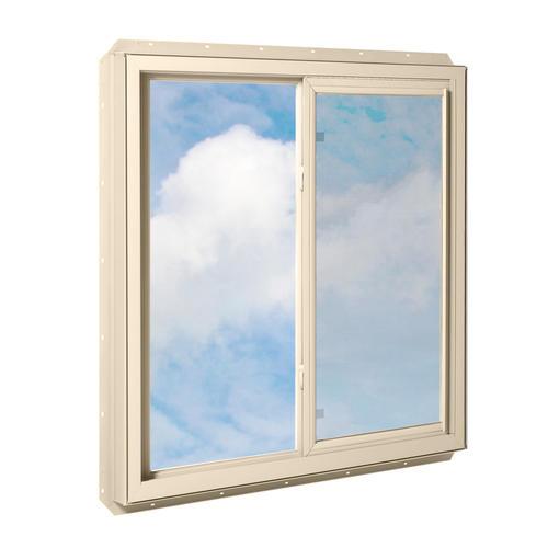 Crestline 250 vinyl sliding window w zo e5 glass at menards for Vinyl sliding windows
