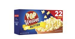 Pop Weaver Butter Microwave Popcorn - 22 pk.
