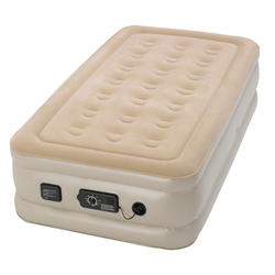Serta Raised Twin Air Bed with Never Flat Pump