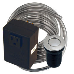 Westbrass Air Switch for Sink Mounted Garbage Disp