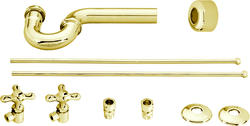 Westbrass Traditional Style Pedestal Kit