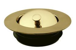Westbrass Decorative disposal flange & stopper