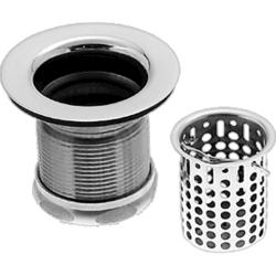 Westbrass Jr Basket Strainer w/ Washers, Nuts and Gaskets