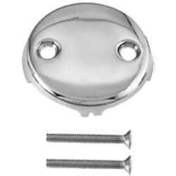 Westbrass Two-Hole Faceplate with screw