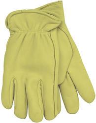 Lined Grain Deerskin Leather Glove - Medium