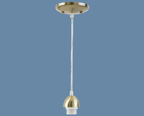 Mini Pendant Lights Menards : Mini pendant kit antique brass finish at menards?