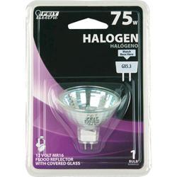 75 Watt Halogen MR16 Flood Reflector Light Bulb