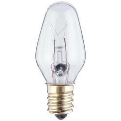 Westinghouse 15 Watt Clear C7 Bulbs, 2 Pack