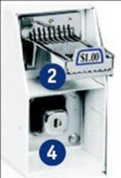 Whirlpool® Vertcal 8 Slide-Only Commercial Laundry Kit