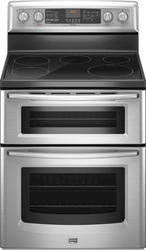 Maytag® Gemini Smoothtop Range with 6.7 cu. ft. Double Ovens