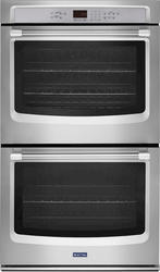 """Maytag® 30"""" Double Built-in Electric Top Convection Wall Oven - 5.0 cu. ft. capacity"""