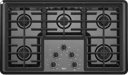 "Whirlpool® 36"" Built-In Gas Cooktop"