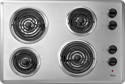 """Whirlpool® 30"""" Built-In Electric Cooktop"""
