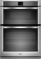 """Whirlpool® 27"""" Combination Microwave and 4.3 cu. ft. Electric Wall Oven with SteamClean Option"""