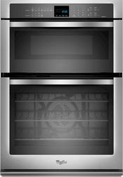 "Whirlpool® 30"" Combination Microwave and 5 cu. ft. Electric Wall Oven with True Convection Cooking"