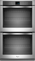 "Whirlpool® 27"" Double 4.3 cu. ft. Electric Wall Oven with SteamClean Option"