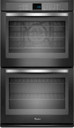 "Whirlpool® 30"" Double 5 cu. ft. Electric Wall Oven with True Convection Cooking"