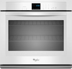 "Whirlpool® 27"" Electric Single Wall Oven with SteamClean Option"